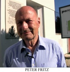 Peter Fritz, Arad 300, eveniment